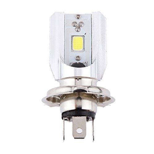 H4 20W Weiß LED Motorrad Lampe Glühbirne Blinker Scheinwerfer Vorn