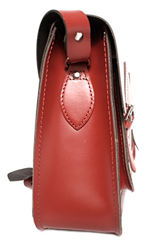 Oxbridge mujer mediano para Satchel's cartera rojo Bolso estilo g4vrqgB
