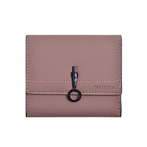XIAMEND Women's Wallet Vintage Clutch Trifolod Small Wallet (Color : Cameo) (Cameo Vintage Clutch)