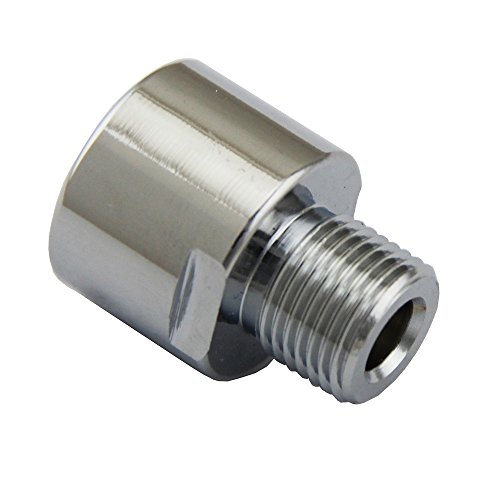 (UP100® Thread adapter for Regulator CO2 Female TR 214 to Male 5/8-18UNF for Sodastream co2 Bottle)