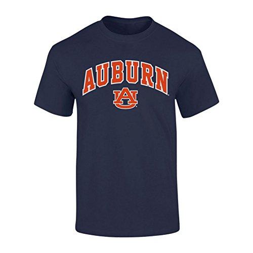 - Elite Fan Shop Auburn Tigers TShirt Arch Navy - XXL