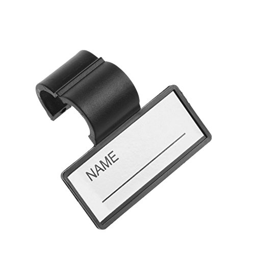 Kloud City Plastic Name ID Identification Tag Clip For Stethoscope Tube Replacement