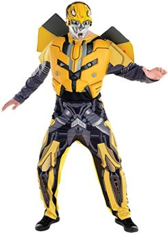 TRANSFORMERS BUMBLEBEE COSTUME ADULT  sc 1 st  Amazon UK & TRANSFORMERS BUMBLEBEE COSTUME ADULT: Amazon.co.uk: Toys u0026 Games