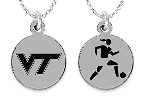 College Jewelry Virginia Tech Hokies Women's Soccer Charm by College Jewelry