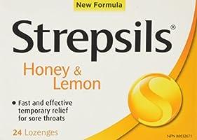 Save 50% on Strepsils Honey Lemon Anaesthetic
