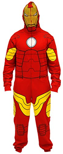 Marvel Iron Man Red Jumpsuit (Adult Large) (Marvel Jumpsuit)