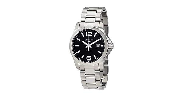 Longines - Longines Conquest L3.760.4.56.6 - L37604566: Amazon.es: Relojes
