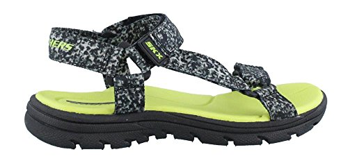 Skechers Supreme Radion Sandals 92218L-BKGY Kinderschuhe, Grau, Größe: 37 EU