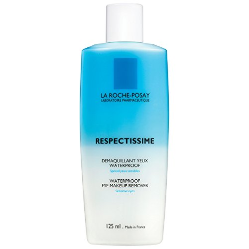 La Roche-Posay Respectissime Eye Makeup Remover for Waterproof Face and Eye Makeup, 4.2 Fl. Oz.