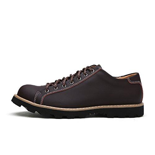 Salabobo - Chaussures Plates Avec L'homme Lacets, Jaune, Taille 41 Eu