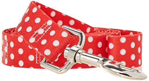 Yellow Dog Design Standard Lead, New Red Polka Dot, 1