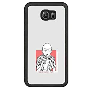 Animation Samsung Galaxy S6 Case Funda One Punch Man Cool Design Cover Hipster Carcasa