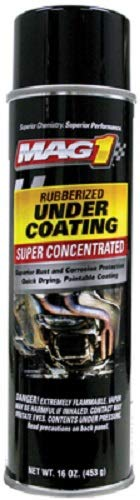 Mag1 16 oz Premium Rubberized Under Coating Spray - Quantity 10