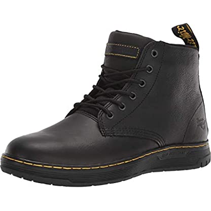 DR MARTENS Amwell Mens Leather Material Formal Boots Black 1