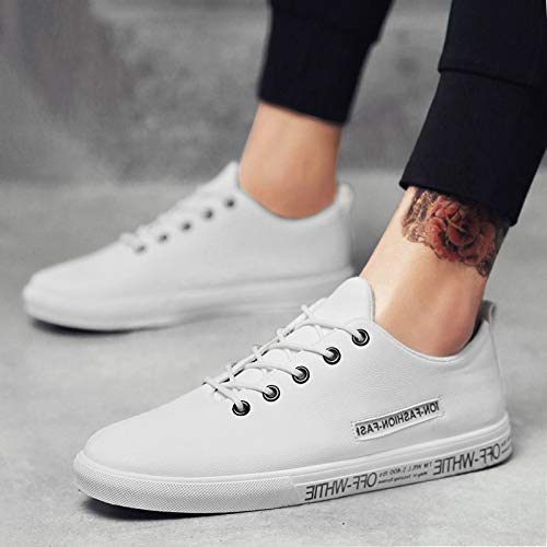 Sport Blanc Mode Chaussures Hommes Hommes Sneakers Tendance NANXIEHO Petit Loisirs Loisirs FqYSA6xwn