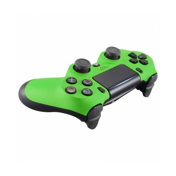 PS4 Dualshock Playstation 4 Wireless Controller Custom Soft Touch New Model (Green) 4