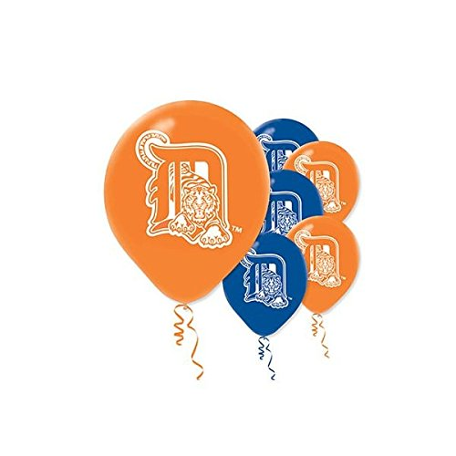 Sports and Tailgating MLB Party Detroit Tigers Printed Latex Balloons Decoration, Orange (Tigers Hanging Sign)