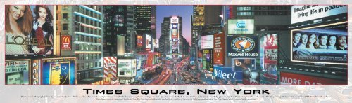 Buffalo Games Panoramic Times Square New York 750 Piece Jigsaw Puzzle by Buffalo - Square Times York New Stores