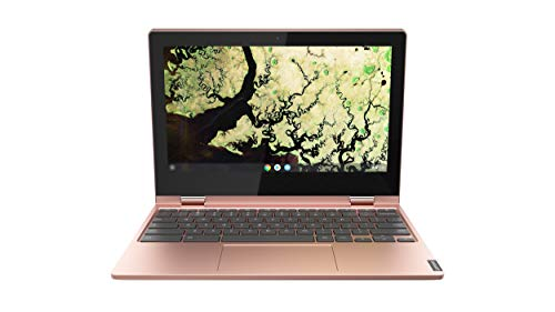 Lenovo Chromebook C340 Laptop, 11.6″ HD (1366 X 768) Touchscreen Display, Intel Celeron N4000 Processor, 4GB LPDDR4 RAM, 64GB SSD, Intel UHD Graphics 600, Chrome OS, 81TA0007US, Sand Pink