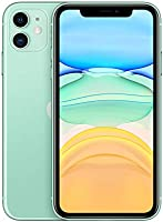 Apple iPhone 11 (128GB, Green) [Carrier Locked] + Carrier Subscription [Cricket Wireless] ($10/Month Amazon Gift Card...