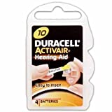 Duracell Hearing Aid Batteries Size 10 40 Batteries