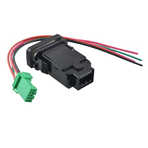 Nissan Car Button Switch with Harness Dual Lamp Waterproof Switch for LED light 1 Pcs - Nissan Switch