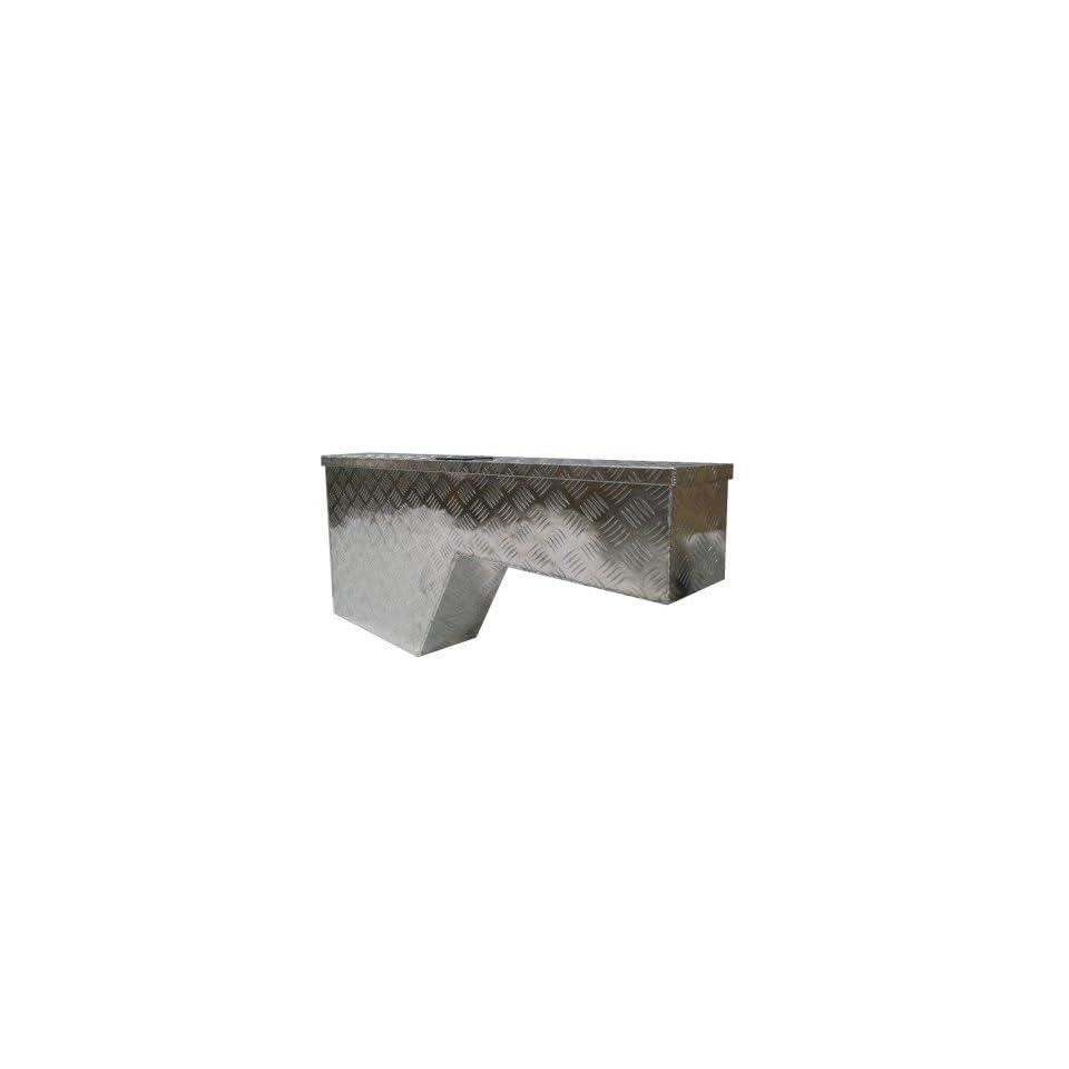 48 x 8 x 20 Heavy Duty Aluminum Truck Pickup Tool Box Pork Chop Wheel Well Storage Passenger Side Right