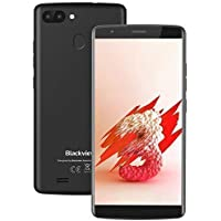 Blackview A20Pro Dual SIM Smartphone,Android 8.1,18:9 Full Screen 5.5'',2+16GB Moviles Libres, 8+5MP Dual Camera, 3000 mAh Teléfono Móvil 4G, 1.3Ghz Huella Dactilar WiFi/GPS/Bluetooth Negro