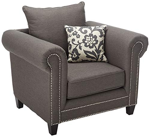Coaster Home Furnishings Emerson Upholstered Chair Charcoal - Emerson Dining Room Chair