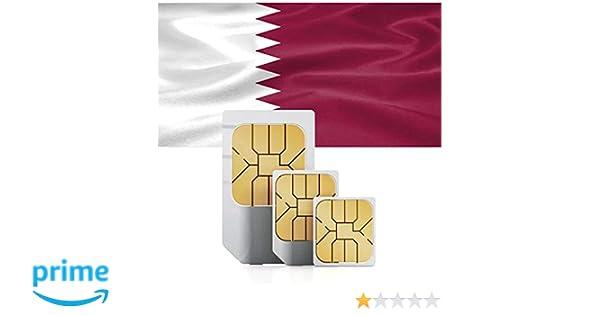 Tarjeta SIM de Datos prepagada para Qatar Que Incluye 72 destinos ...