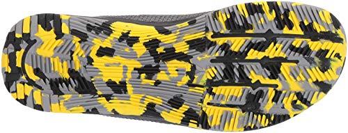 Reebok Men's CROSSFIT Nano 8.0 Flexweave Cross Trainer, Shark/Tin Grey/Ash Grey/Black/Go Yellow, 6.5 M US by Reebok (Image #3)