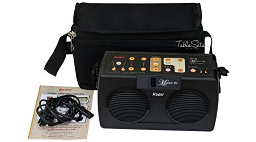 Electronic Tanpura - RADEL Saarang Maestro Dx Electronic Tanpura - Tambura, Digital Tanpura Box, DJ Sound Machine, Tanpura Sampler, Instruction Manual, Bag, Power Cord (PDI-BHG) by Radel at buyRaagini.com