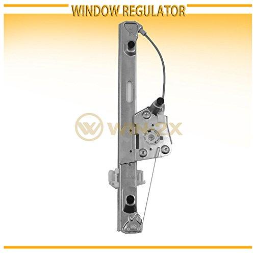 (WIN-2X New 1pc Rear Driver Left Side Power Window Regulator Without Motor Fit BMW 3-Series/M3 06-11 E90 4-Door Sedan 06-12 E91 5-Door Wagon)