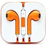 SWAPCORP Ear pods for iPhone 6/6 Plus/5C/5S/5 Earphones, Orange