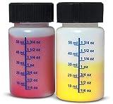 NSI 2oz Touch Up Paint Graduated Plastic Bottle w
