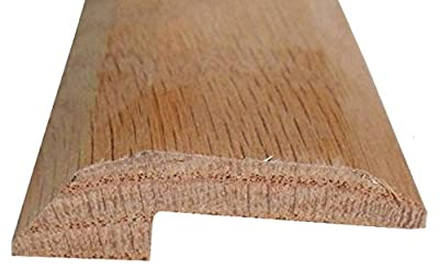 Solid Red Oak Interior Threshold - Style 2