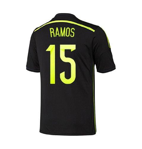 Adidas RAMOS #15 Spain Away Jersey World Cup 2014 (XL) ()