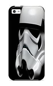 Fashion Protective Star Wars Stormtroopers Helmet Black Case Cover For Iphone 6 4.7''