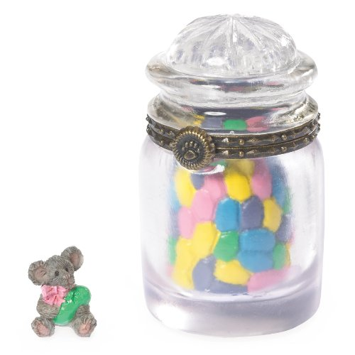 Boyds Bear Sweetie's Candy Jar with J.b. Mcnibbletreasure Box 2013