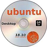 Ubuntu Linux 18.10, Standard Desktop (GNOME), 64 Bit, Live Boot / Installation
