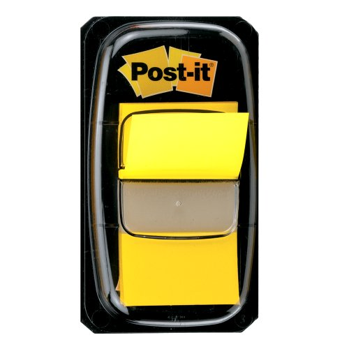 Post-it Flags Value Pack, Yellow, 1-Inch Wide, 50/Dispenser, 24-Dispensers/Pack by Post-it