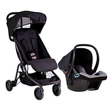 Amazon Com Mountain Buggy Nano Protect Travel System Black Baby