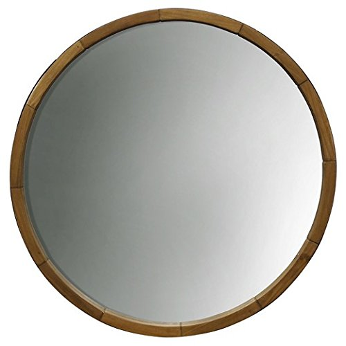 wine barrel mirror - 1