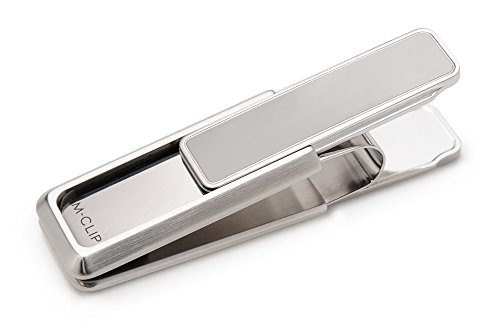 M-Clip Stainless Steel Brushed Polished Stainless Money Clip - Cufflinks Gucci