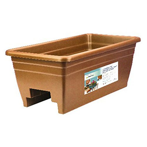 Akro Mils Deck Rail Planter Set