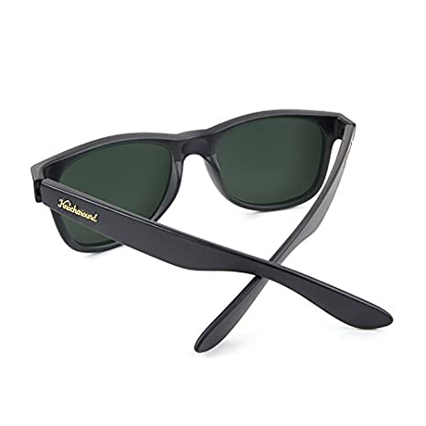 Gafas de sol Knockaround Fort Knocks Matte Black / Green Moonshine Polarizadas: Amazon.es: Ropa y accesorios