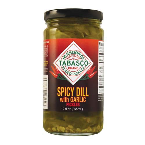 Tabasco Spicy Dill with Garlic Pickles, 12 - Spicy Dill Pickles