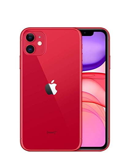 Apple iPhone 11, 64GB, Red - for Sprint (Renewed)
