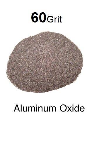 Blastite Aluminum Oxide Sandblasting Abrasive - 60 Grit - 10 Lb. Bag
