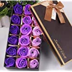 Nydotd-18-Pcs-Artificial-Rose-Floral-Scented-Bath-Soap-Rose-Flower-Petals-Plant-Essential-Oil-Soap-Set-Petals-Gifts-for-Women-Teens-Girls-Mom-Birthdays-Anniversary-Wedding-Valentines-Day